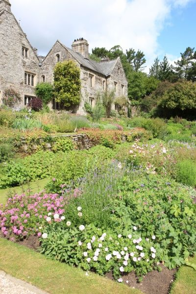 Cotehele House near Saltash Cornwall built in Tudor times with its fine gardens