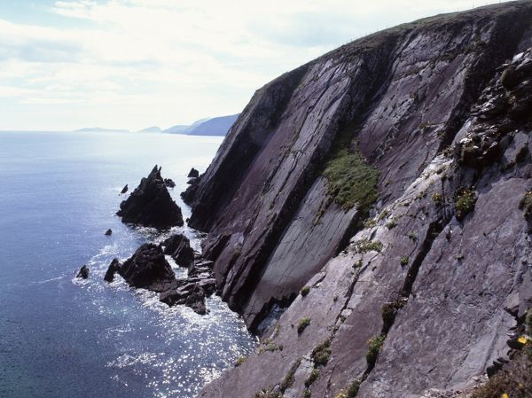 Slea Head on the Dingle Peninsula the most westly part of Ireland and used in the film Ryan's Daughter Dingle County Kerry Southwest Ireland EU