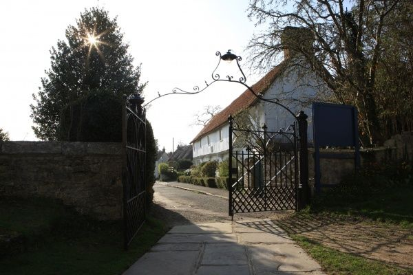Long Crendon. The Gateway of St Mary's Church in the Buckinghamshire village