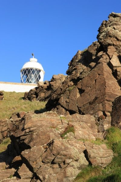 Pandeen Watch the lighthouse near St Just Cornwall a fell miles from Lands End