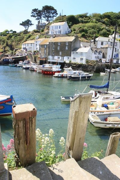 Polperro. The picturesque fishing village of Polperro on the south coast of Cornwall