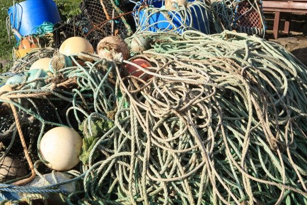 Ropes on Fishing Boats near Lands End