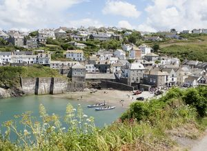 Port Isaac or Port Wenn home of TV's Doc Martin.
